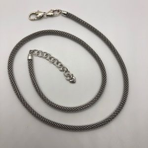 "24"" Long Brighton cable chain Necklace"